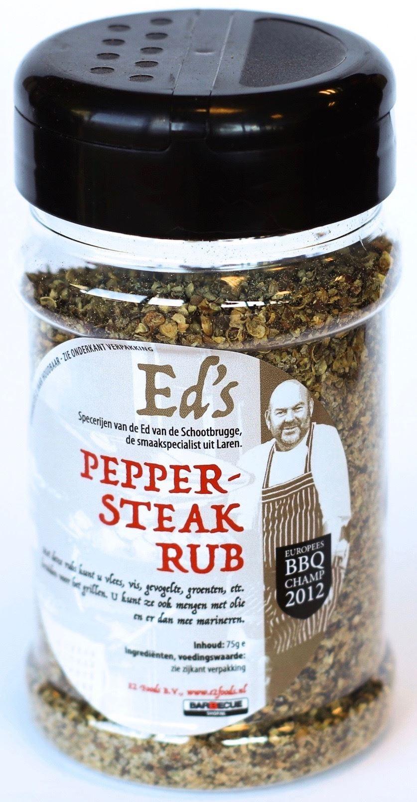 Ed's Pepersteak Rub 175 gr