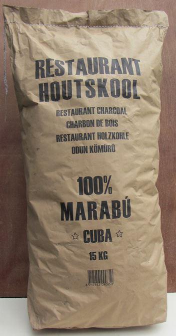Dammers Houtskool Marabu 15kg