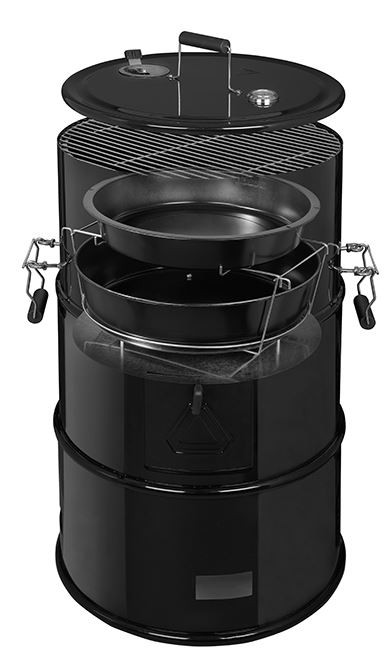 Goede 4Grill Olievat BBQ 4-in-1 - Barbecueshop dé barbecue specialist XB-09