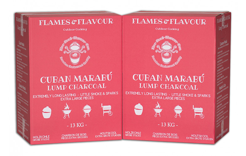 Flames & Flavour Cubaanse Marabu 26KG