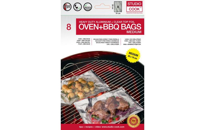 Studio Cook oven en barbecue zakken medium