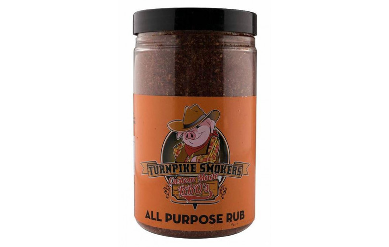 TurnPike Smokers All Purpose BBQ Rub 400 gram