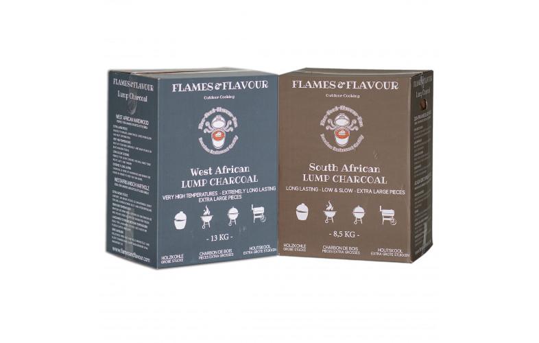 Flames & Flavour Zuid Afrikaans + West Afrikaans houtskool
