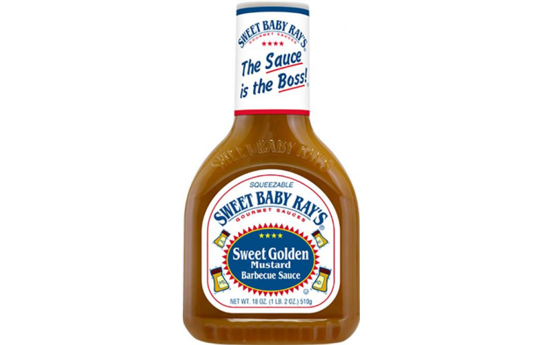 Sweet Baby Ray's Sweet Golden Mustard