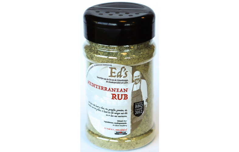 Ed's Mediterean Rub 150gr
