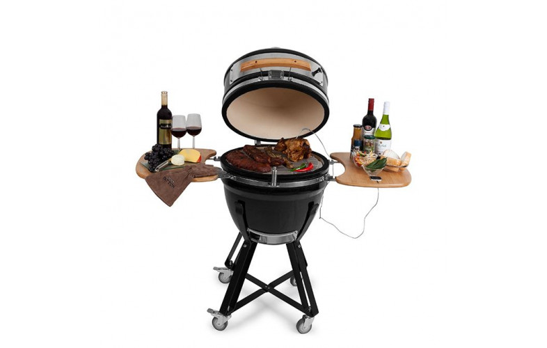 Patton Kamado 21 Inch.Patton Kamado Grill Exclusive Edition 21 Inch Barbecueshop