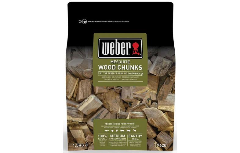 Weber Houtblokjes 1.5kg Mesquite