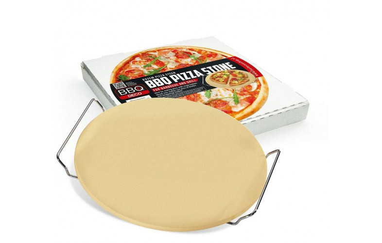 BBQdeco pizzasteen 33 cm