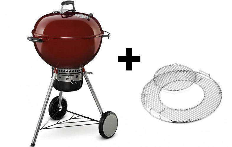 Weber Master Touch GBS Edition 57 cm Crimson Red