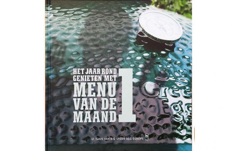 Big Green Egg Menu Van De Maand Boek 1