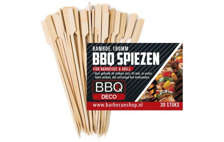 BBQdeco Bamboe spiesen 18 cm 30 stuks