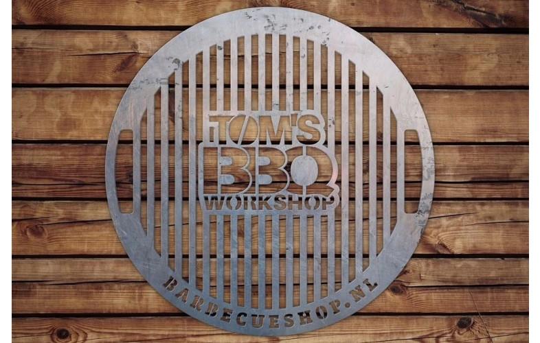 BBQdeco 57cm TOMS BBQ workshop RVS rooster