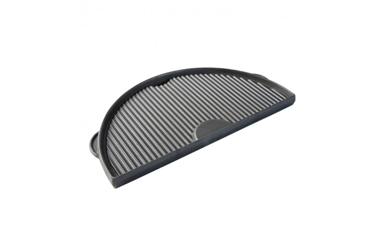 Big Green Egg Cast iron griddle half moon