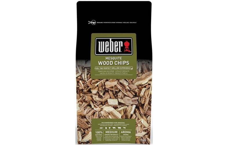 Weber Houtsnippers 0.7 kg mesquite