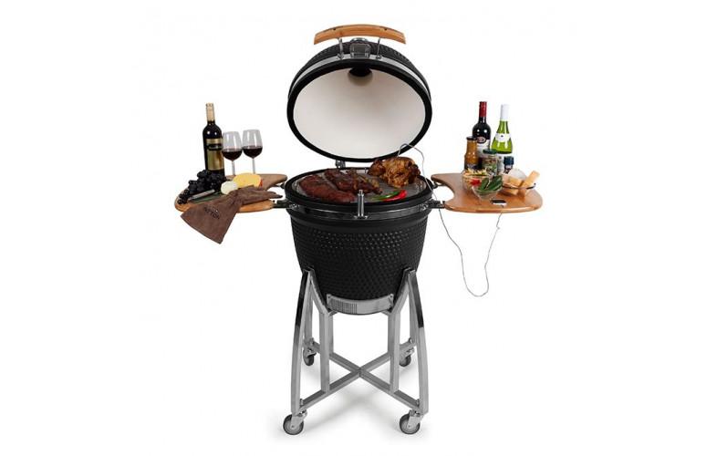 Patton Kamado 21 Inch.Patton Kamado Grill Deluxe Large 21 Inch Barbecueshop De
