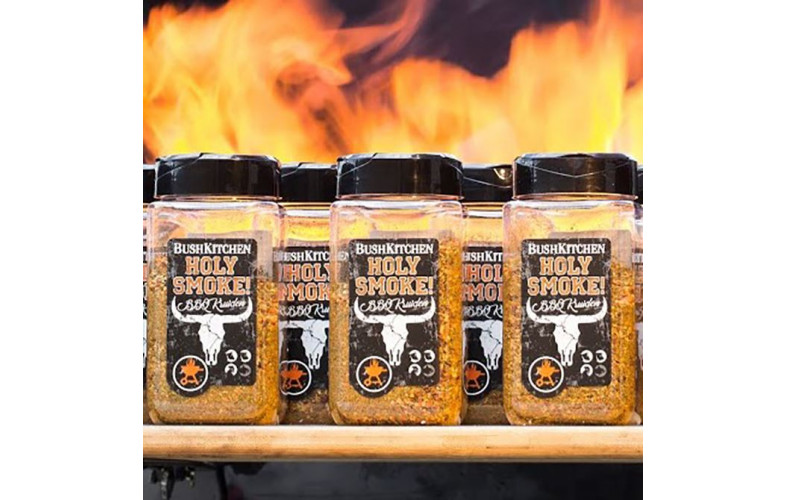 BushKitchen Holy Smoke kruiden 200gr