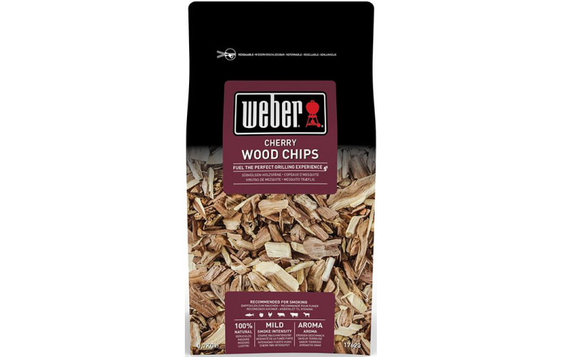 Weber Houtsnippers 0.7 kg cherry