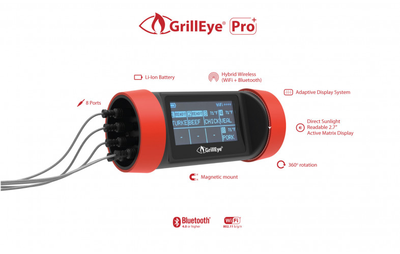 Grilleye Pro+ Bluetooth thermometer