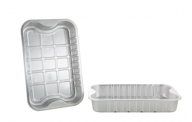 BBQdeco Aluminium bakjes XL (5 stuks) Barbecueshop dé