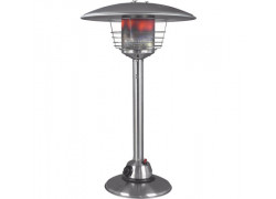 Eurom Table loungeheater RVS