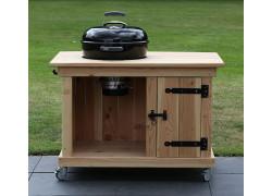 BBQ meubel met enkele deur voor Weber 47CM