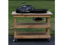 BBQ meubel zonder deur voor Weber 57CM (115CM breed)