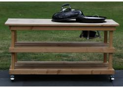BBQ meubel zonder deur voor Weber 47CM (155CM breed)