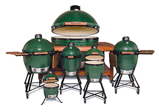 Big Green Egg verschillende modellen