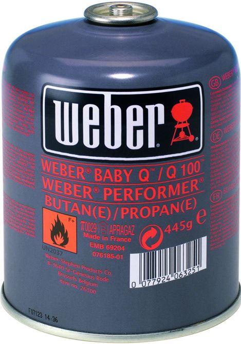 Weber Gasbusje 3 Pack
