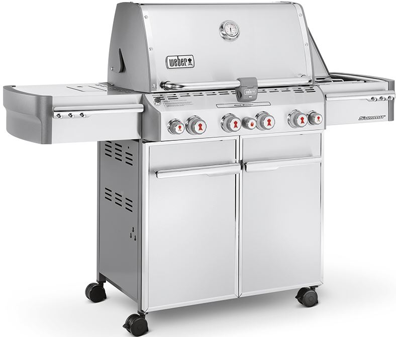 Weber Summit S470 RVS