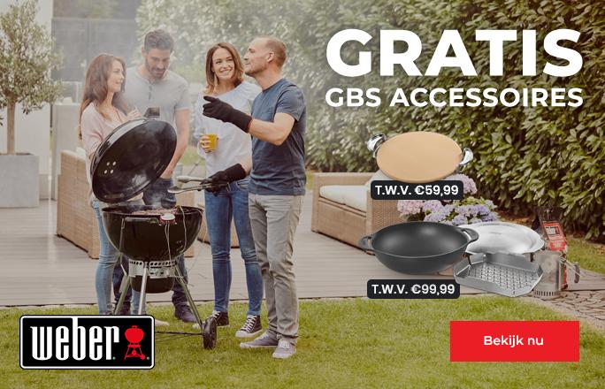 Gratis Weber GBS accessoires
